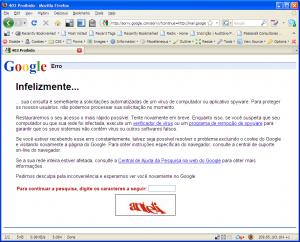google-erro